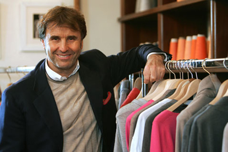 Fashion Designer Brunello Cucinelli