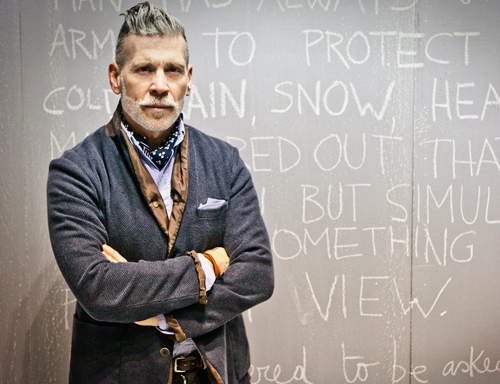 Style Icon Nick Wooster