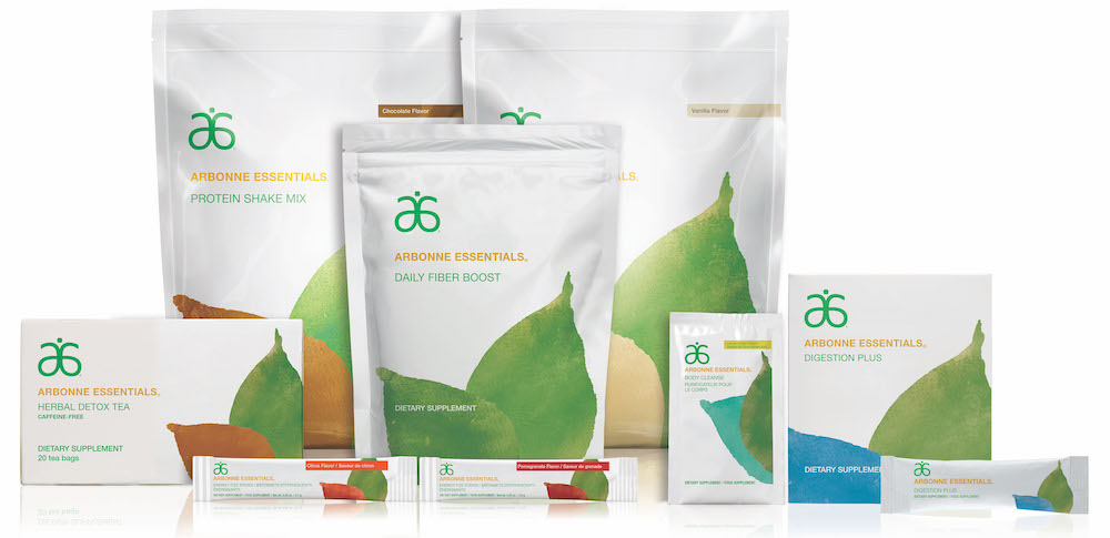 Arbonne 30 days to healthy living supplements