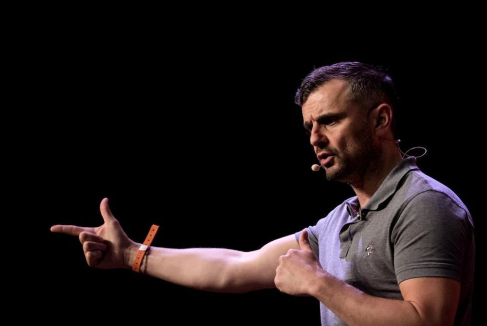 inspirational and motivational speaker and author Gary Vaynerchuk