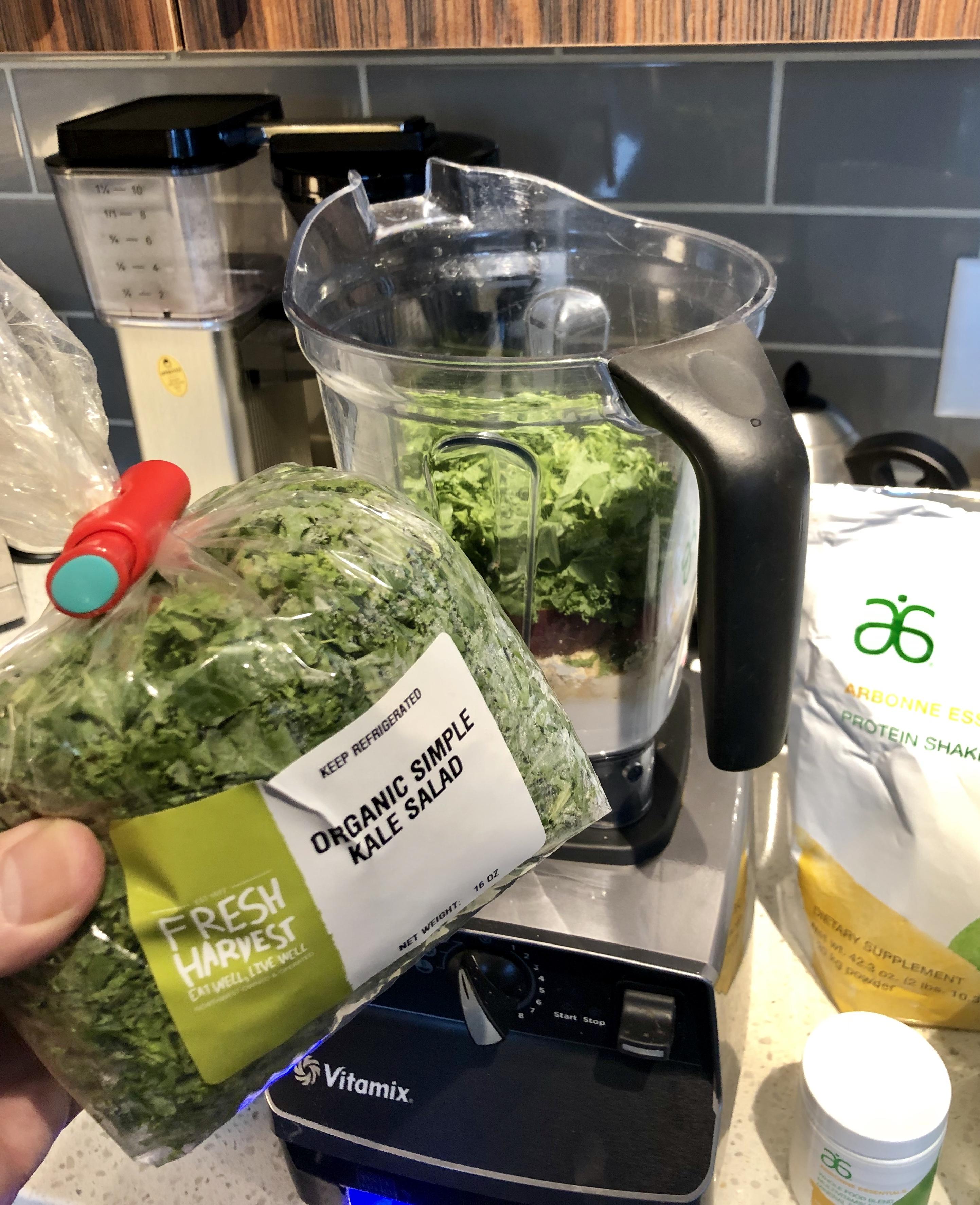 arbonne kale protein smoothies