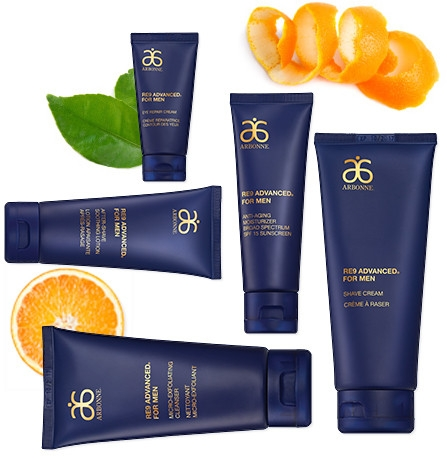 Arbonne RE9 Advanced for Men Skincare Collection